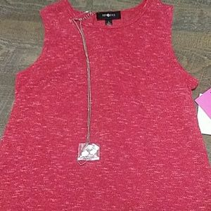 NWT. Amy Byer red shirt